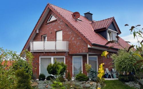 Neubau Klinker rot Plan-Haus Juskowiak Bauunternehmen