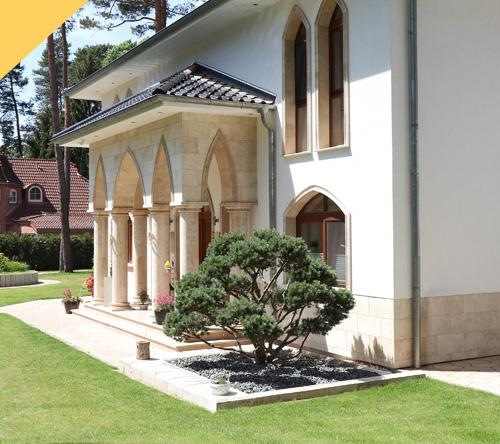 Villa im orientalischen Stil
